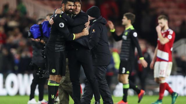 Conte revela que dispensa de Diego Costa estava decidida desde... janeiro