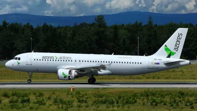 Equipa do Caldas seguia em voo da Azores Airlines atingido por um raio