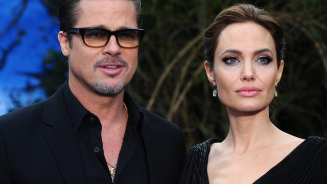 Angelina Jolie 'ignorou' Brad Pitt no aniversário de casamento