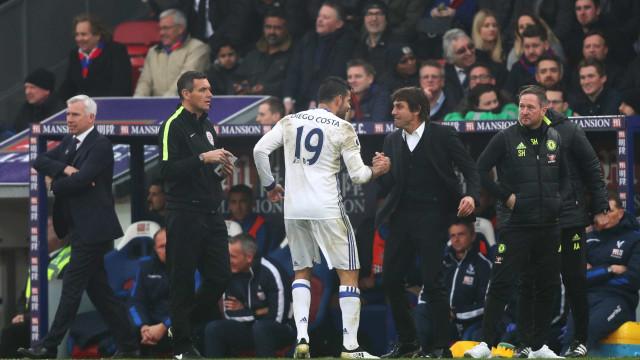 Chelsea recupera 'fantasma' de Diego Costa para despedir Conte