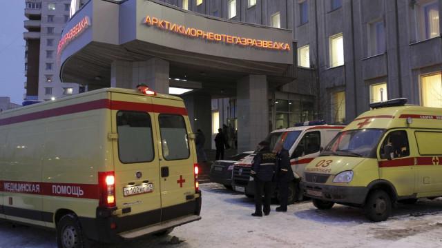 Um morto e 3 feridos em explosão em agência de serviços secretos russos