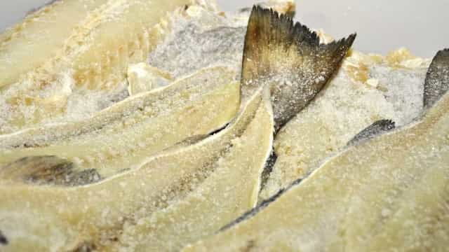 Mais de 33 toneladas de bacalhau apreendidas