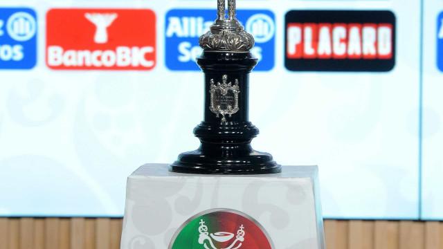 Taça de Portugal: Três 'grandes' jogam 16-avos em casa
