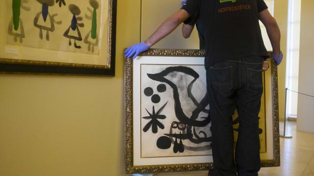Exposição da Coleção Miró no Palácio da Ajuda recebeu 49.265 visitantes