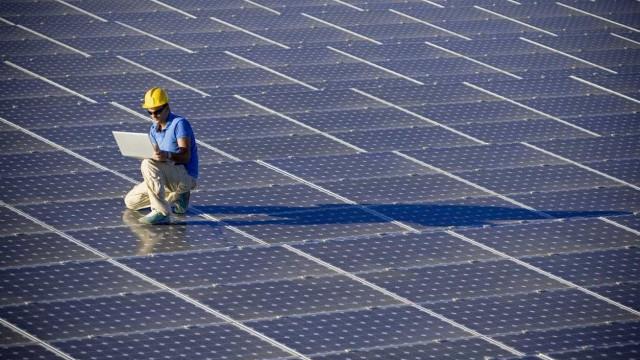 China vai ter maior central de energia solar flutuante a nível mundial