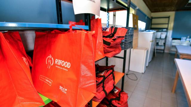 Uber e Re-food juntam-se para entregar refeições a famílias carenciadas