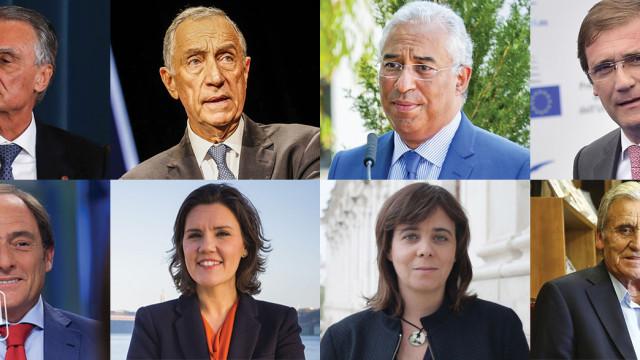 Sobe e desce. Como correu o ano dos políticos aos olhos dos portugueses?