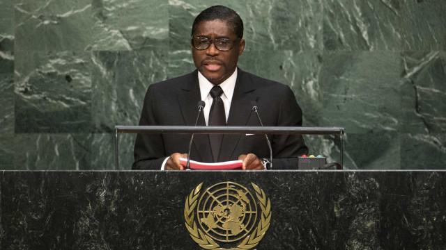 """Presidente da Guiné Equatorial pede a Espanha """"para não sair"""" do país"""