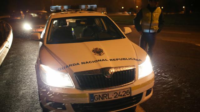 GNR detém mais de 120 pessoas a conduzir sob efeito de álcool