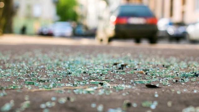 Cinco feridos numa colisão em Ourém. Via está intransitável