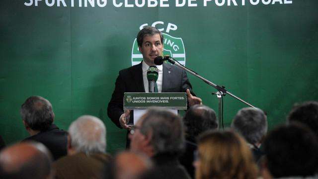 """Sinto que foi o último jogo que fiz como presidente do Sporting"""