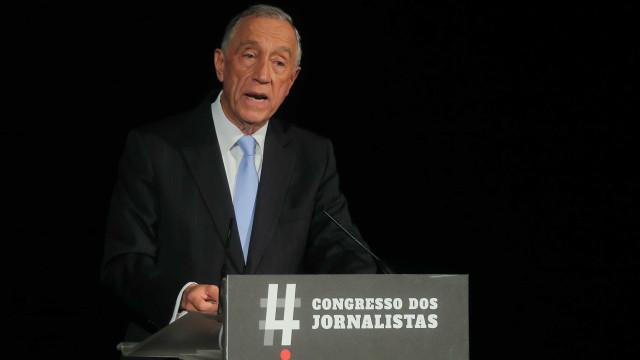 Marcelo recebido por Trump na quarta-feira