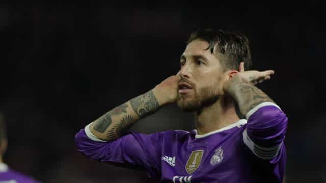 """Sergio Ramos esclarece polémica: """"Tinha de fazer aquela falta"""""""