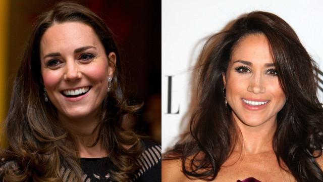 Kate Middleton defende Meghan Markle de 'hater'