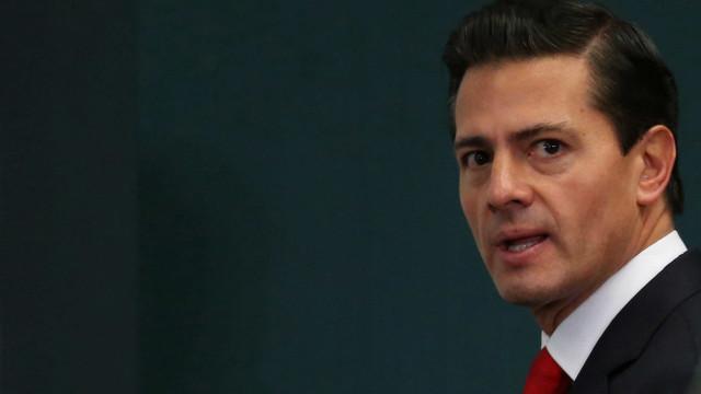Presidente Peña Nieto ativa plano de emergência na sequência do sismo