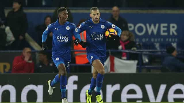 Slimani pode ser dispensado do Leicester