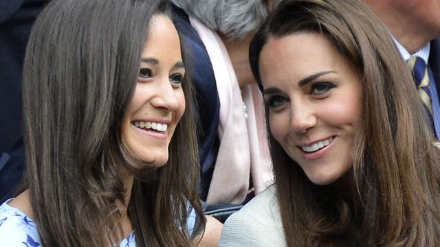 Kate Middleton poderá ter de escolher entre a irmã e a família real