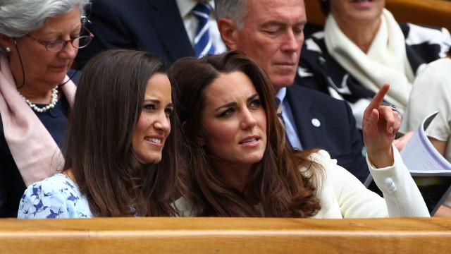 Pippa Middleton com ciúmes da amizade entre Kate e Meghan Markle