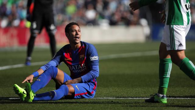 Bronca em Espanha: Liga recusa cheque de 222 milhões por Neymar