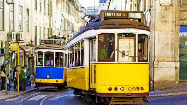 Idoso atropelado por elétrico em Lisboa