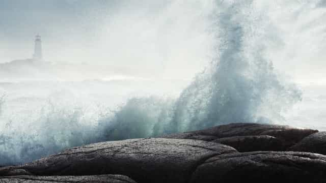 Dez distritos sob aviso laranja devido à agitação marítima