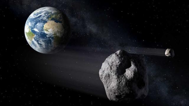 Asteróide com mais de 4 quilómetros de diâmetro passa hoje pela Terra