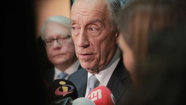 Marcelo satisfeito com consenso entre PS e PSD na adesão à defesa comum