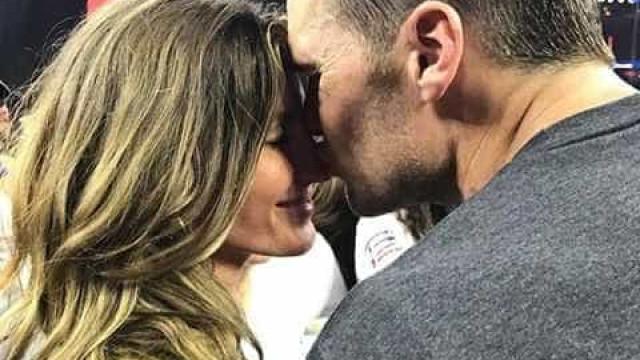 Foi assim que Tom Brady surpreendeu Gisele Bündchen no Dia dos Namorados