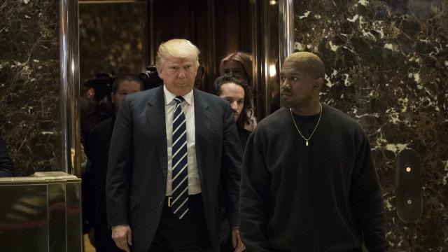 Trump reúne com Kanye West. Violência de gangues entre temas em debate