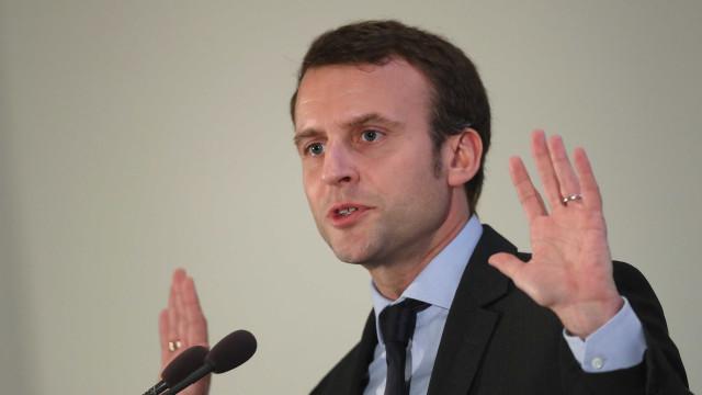 Seis pessoas detidas por tentativa de ataque a Emmanuel Macron