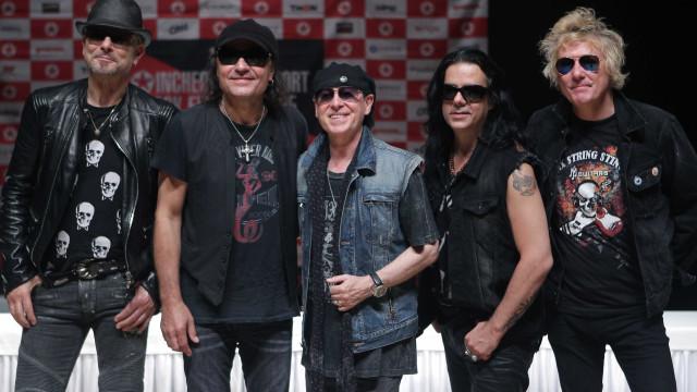 Scorpions atuam em Lisboa no dia 26 de junho