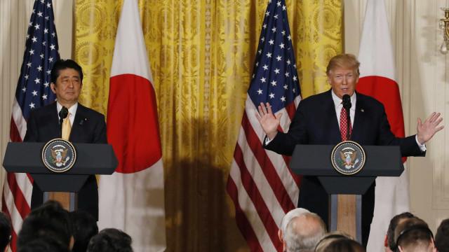 Trump sugeriu que podia enviar 25 milhões de mexicanos para o Japão