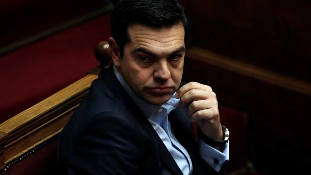Tsipras declara três dias de luto nacional pelas vítimas dos incêndios