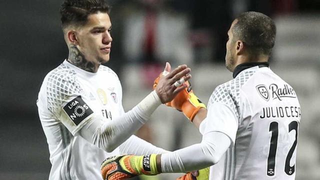 Os melhores guarda-redes para Júlio César? Há dois ex-Benfica na lista