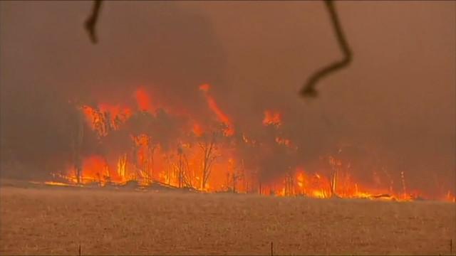 Mais de uma dezena de casas destruídas em incêndios sem controlo