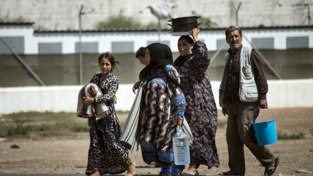 """Amnistia Internacional """"chocada"""" com acolhimento de refugiados na Grécia"""