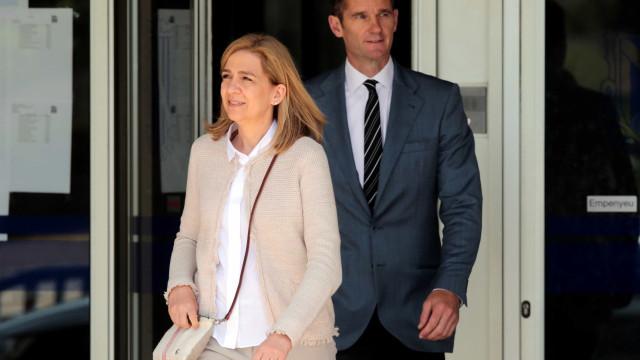 Infanta Cristina prepara divórcio de Iñaki Urdarganrín, diz revista