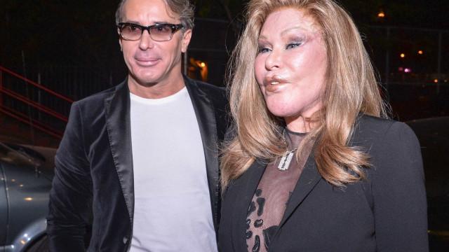 Jocelyn Wildenstein e o noivo Lloyd Klein presos após violenta discussão