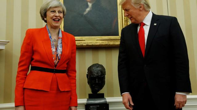 Já se sabe quando Donald Trump vai ao Reino Unido