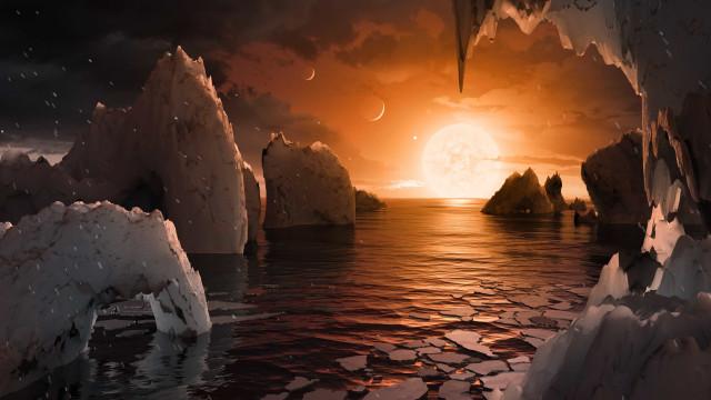 Há futuro no espaço? Foram encontrados sinais de água em três exoplanetas