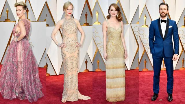 Eis os outfits que abrilhantaram a passadeira vermelha dos Óscares 2017