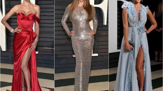 Eis os looks dos famosos na 'after-party' dos Óscares