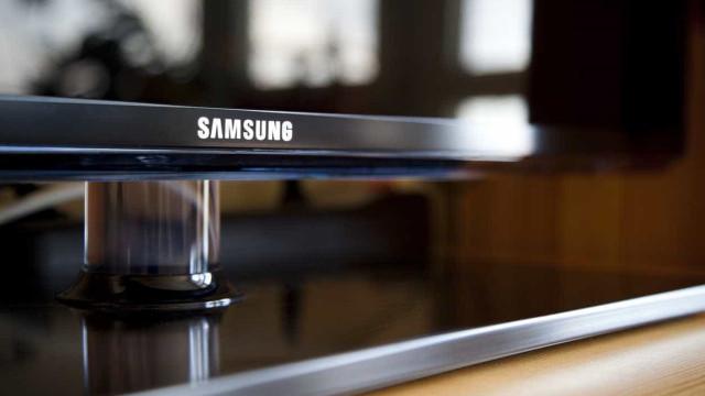 Não espere uma televisão OLED da Samsung para os próximos tempos