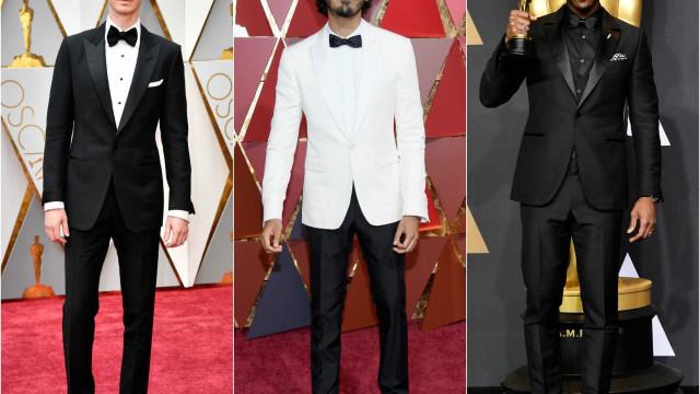 Aprenda com os homens mais elegantes dos Óscares