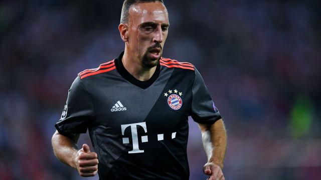 A enigmática mensagem de Ribéry nas redes sociais