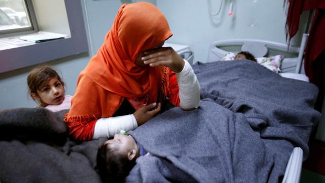 """Pentágono detetou """"preparativos em curso"""" para ataque químico na Síria"""