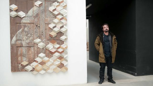 Vhils inaugura na sexta-feira primeira exposição individual em Pequim