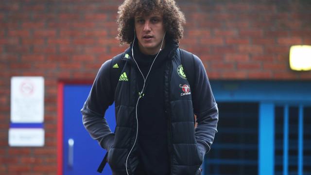 """David Luiz: """"Penso terminar a carreira no Benfica"""""""