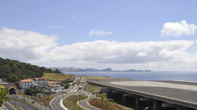 Vento forte condiciona movimento no Aeroporto da Madeira