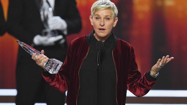 Ellen DeGeneres brinca com polémica capa da Vanity Fair